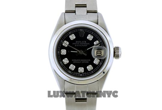 ROLEX 26mm Ladies Datejust S/S with Appraisal Image 1