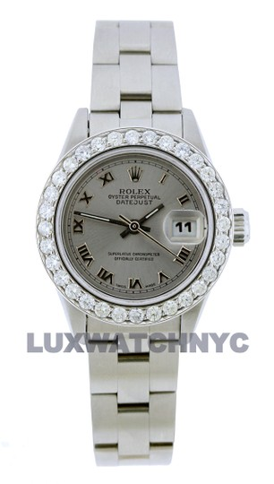 Preload https://img-static.tradesy.com/item/26055637/rolex-gray-dial-15ct-ladies-26mm-datejust-stainless-with-appraisal-watch-0-0-540-540.jpg