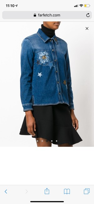 RED Valentino Womens Jean Jacket Image 1