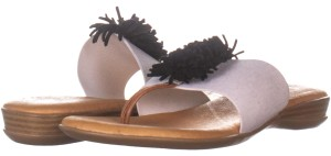 Andre Assous White Sandals