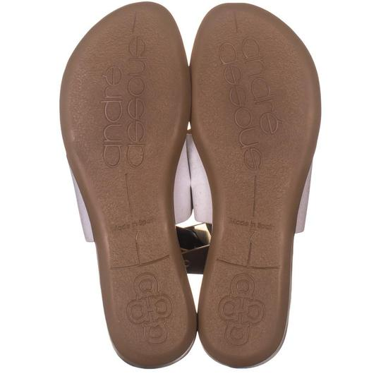 Andre Assous White Sandals Image 5