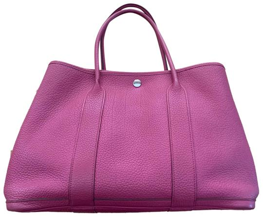 Preload https://img-static.tradesy.com/item/26055693/hermes-garden-party-bag-36-women-s-negonda-pink-leather-tote-0-2-540-540.jpg