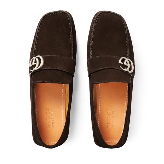 Gucci Dark Brown Flats Image 5