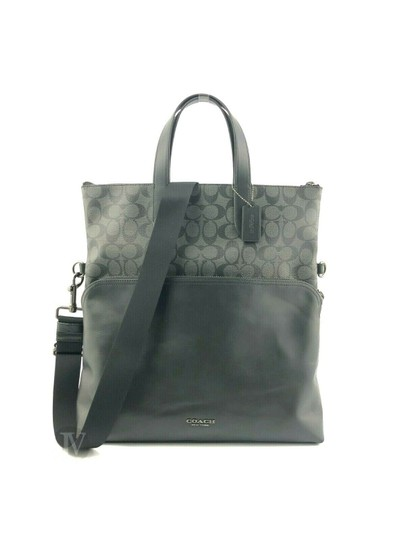Preload https://img-static.tradesy.com/item/26055729/coach-mens-f50712-f72528-graham-foldover-smooth-to-black-leather-tote-0-0-540-540.jpg