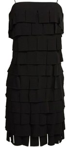 JS Collections short dress black on Tradesy