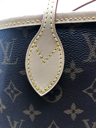 Louis Vuitton Neverfull Mm Neverfull Neverfull Monogram Neverfull With Pouch Neverfull Cherry Tote in Cerise Image 7