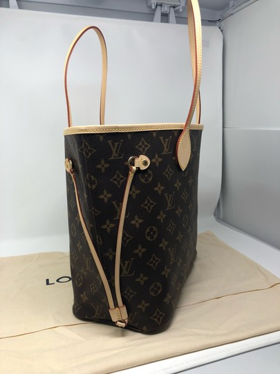 Louis Vuitton Neverfull Neverfull Mm Neverfull Neverfull Monogram Neverfull Tote in Cherry Image 2