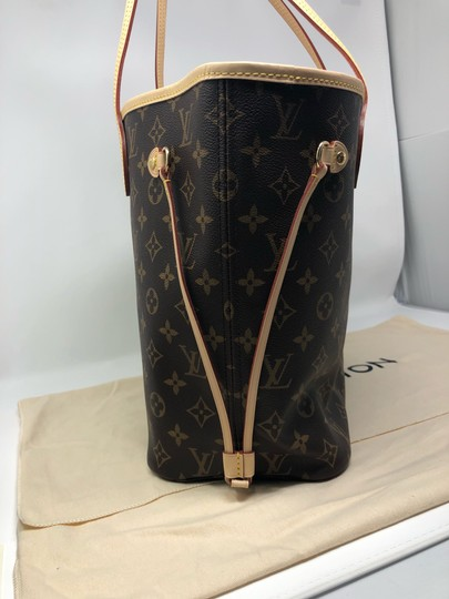 Louis Vuitton Neverfull Neverfull Mm Neverfull Neverfull Monogram Neverfull Tote in Cherry Image 3