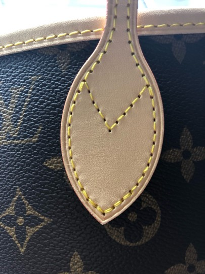 Louis Vuitton Neverfull Neverfull Mm Neverfull Neverfull Monogram Neverfull Tote in Cherry Image 5