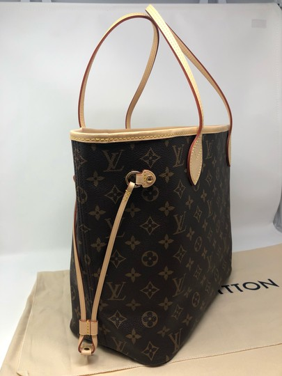 Louis Vuitton Neverfull Neverfull Mm Neverfull Neverfull Monogram Neverfull Tote in Cherry Image 8