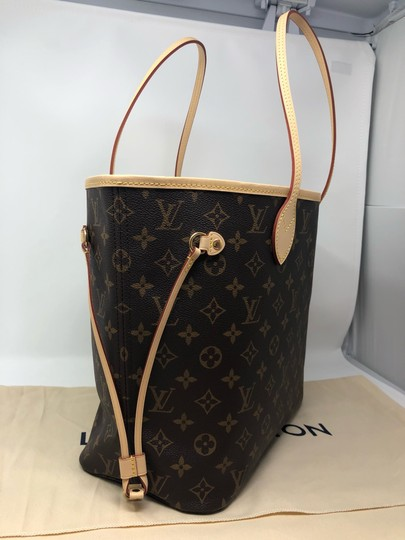 Louis Vuitton Neverfull Neverfull Mm Neverfull Neverfull Monogram Neverfull Tote in Cherry Image 9