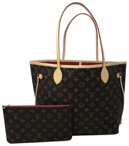 Louis Vuitton Neverfull Neverfull Mm Neverfull Neverfull Monogram Neverfull Tote in Cherry