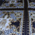 100% VERSACE PANEL FABRIC 64/64 INCH 100% SILK FOR SEWING DRESS Versace fabric panel 64/64 inch Image 0