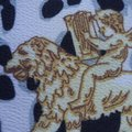 100% VERSACE PANEL FABRIC 64/64 INCH 100% SILK FOR SEWING DRESS Versace fabric panel 64/64 inch Image 11