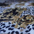 100% VERSACE PANEL FABRIC 64/64 INCH 100% SILK FOR SEWING DRESS Versace fabric panel 64/64 inch Image 4
