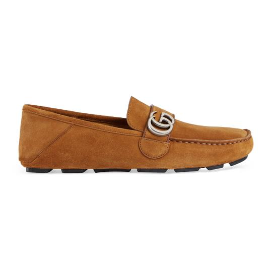 Gucci Light Brown Flats Image 1