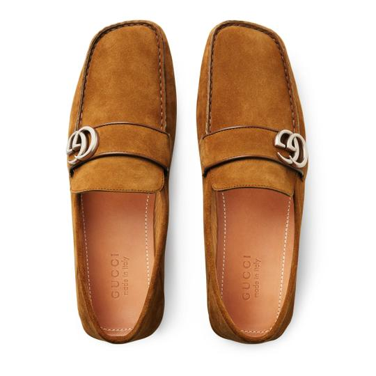 Gucci Light Brown Flats Image 5