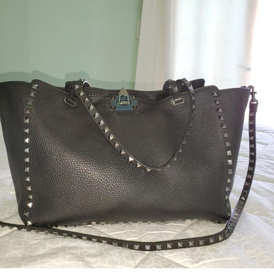 Valentino Tote in Black Image 3