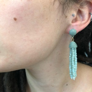 Marlyn Schiff Marlyn Schiff Crystal Bead Tassel Earrings