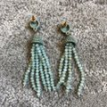 Marlyn Schiff Marlyn Schiff Crystal Bead Tassel Earrings Image 4