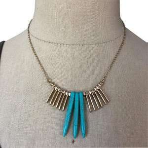 Marlyn Schiff Marlyn Schiff Turquoise & Statement Necklace