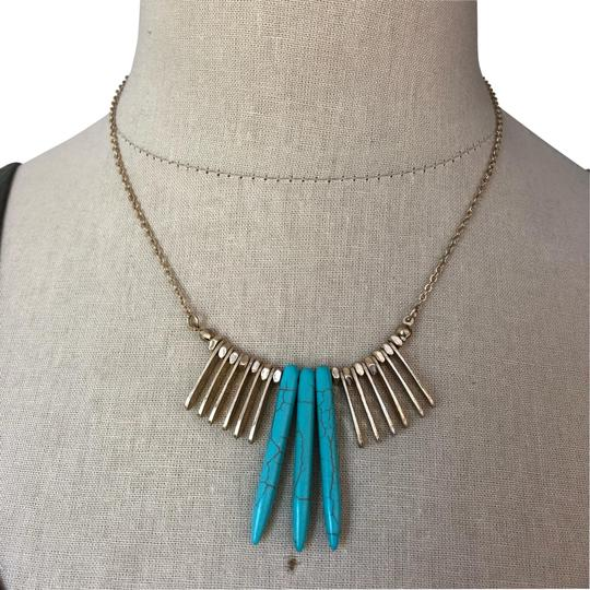 Preload https://img-static.tradesy.com/item/26055904/gold-and-turquoise-statement-necklace-0-2-540-540.jpg