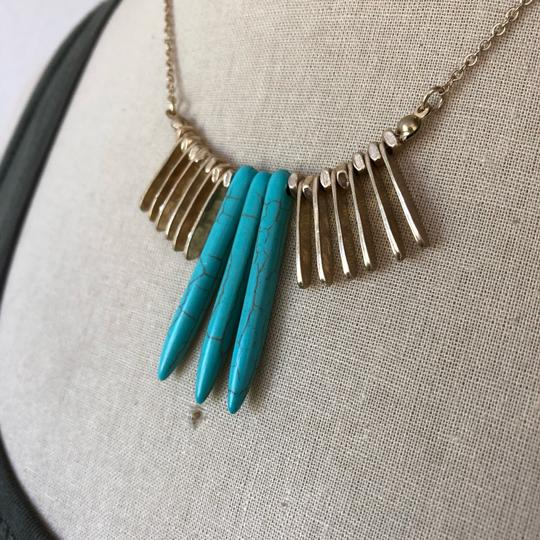 Marlyn Schiff Marlyn Schiff Turquoise & Statement Necklace Image 1
