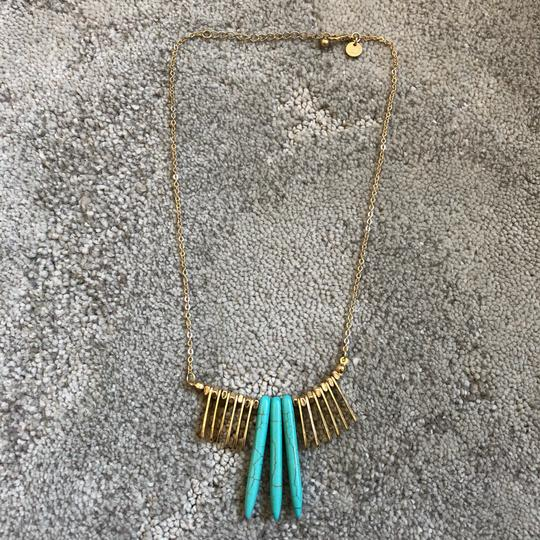 Marlyn Schiff Marlyn Schiff Turquoise & Statement Necklace Image 2