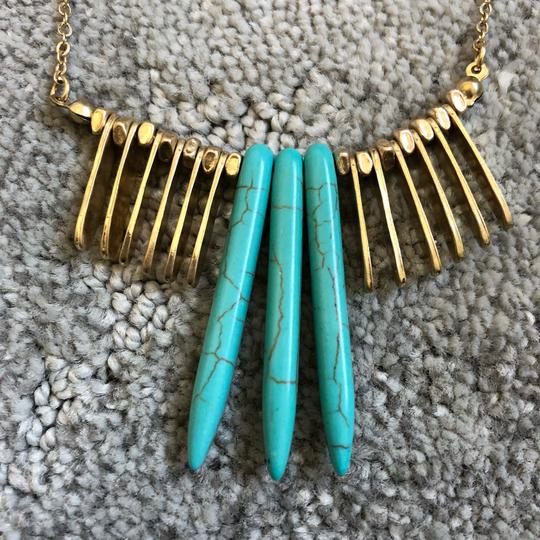 Marlyn Schiff Marlyn Schiff Turquoise & Statement Necklace Image 3