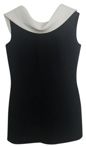 Escada Designer Formal Sleeveless Vintage Top Black