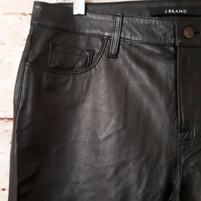 J Brand Straight Pants Black Image 4