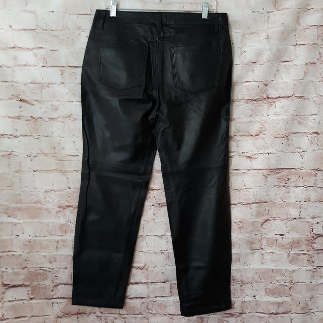 J Brand Straight Pants Black Image 5