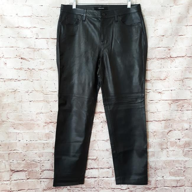 J Brand Straight Pants Black Image 9