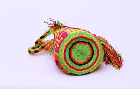 Wayuu Tribe Boho Chic Casual Hobo Bag Image 5