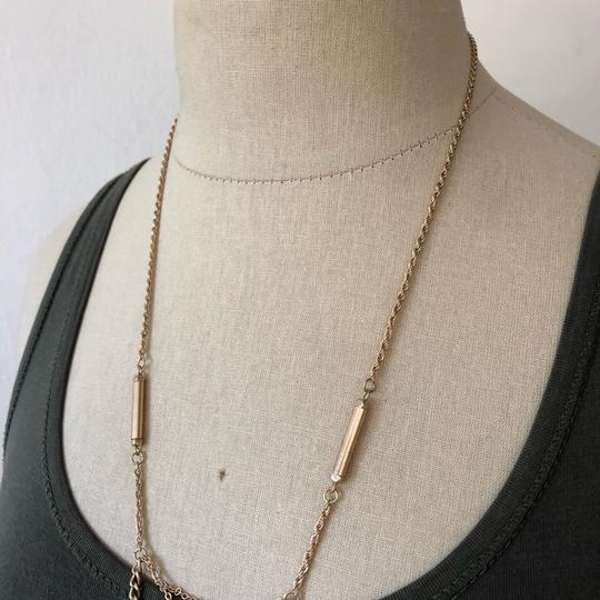 Marlyn Schiff Marlyn Schiff Triple Layer Onyx Pendent Necklace Image 1