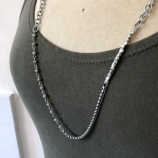 Marlyn Schiff Marlyn Schiff Bead Crystal Pyramid Layer Necklace Image 3