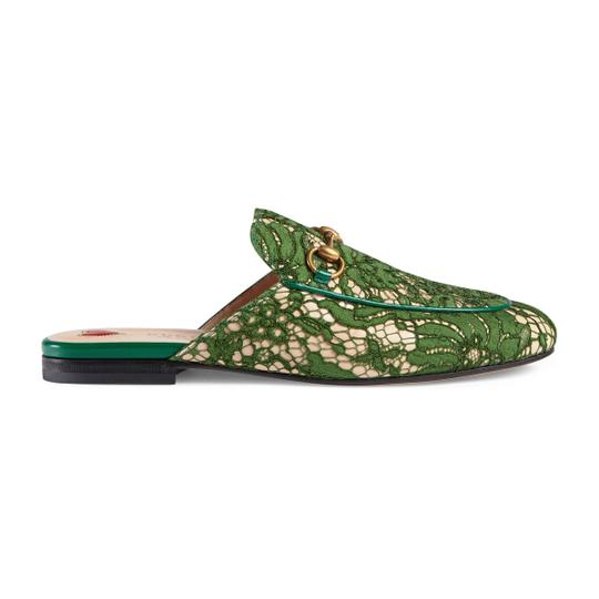 Gucci Green Mules Image 1