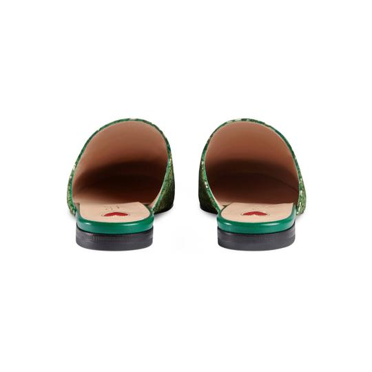 Gucci Green Mules Image 2
