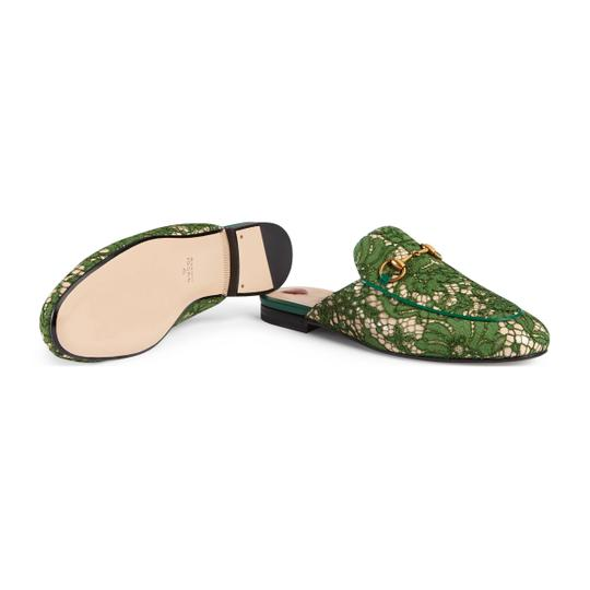 Gucci Green Mules Image 3