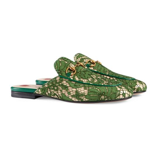 Gucci Green Mules Image 4