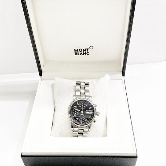 Montblanc GREAT CONDITION!! Montblanc Star XL 18966 38mm Stainless Steel Wristwatch Image 2