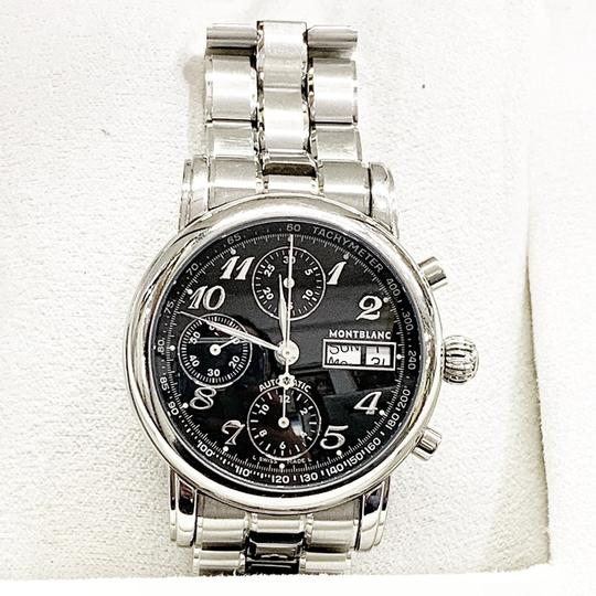 Montblanc GREAT CONDITION!! Montblanc Star XL 18966 38mm Stainless Steel Wristwatch Image 3