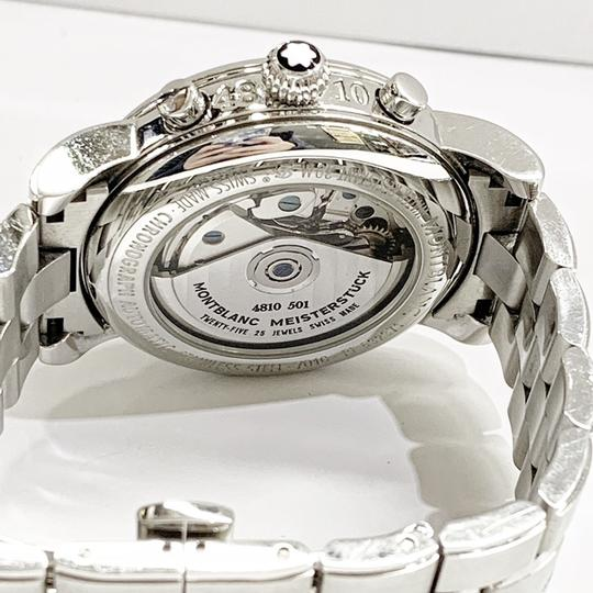 Montblanc GREAT CONDITION!! Montblanc Star XL 18966 38mm Stainless Steel Wristwatch Image 4