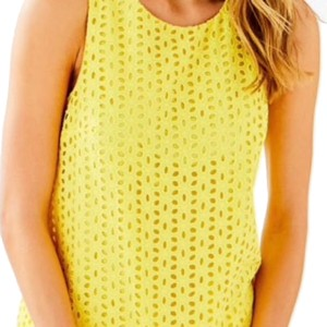 Lilly Pulitzer Top yellow