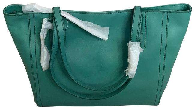 Item - Emma Teal Green Leather Tote