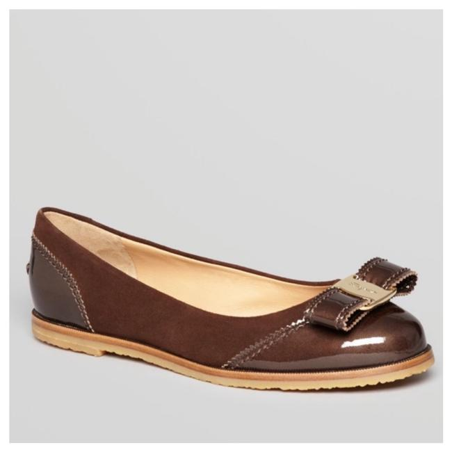 Item - Brown Rolina Suede Leather Flats Size US 6 Wide (C, D)