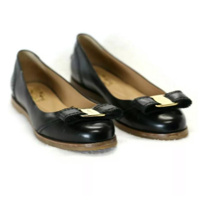 Item - Black Rolina Leather Pumps Size US 6 Wide (C, D)