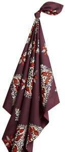 Burberry New Burberry Iconic Durham Flora Quills Silk scarf