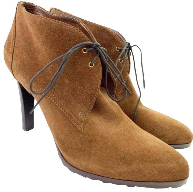 Item - Tan Suede Heeled Boots/Booties Size US 10 Regular (M, B)