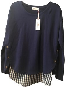 Vineyard Vines Two Shirts In One Layered Look Color Sweater